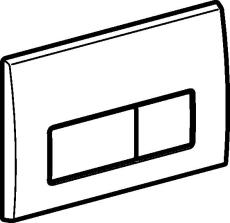 Geberit Kappa50 blankforkromet