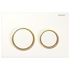 Betjeningsplade Omega 20, hvid/guld/hvid
