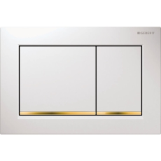 Betjeningsplade Omega 30, hvid/guld/hvid
