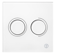GBG Triomont XS pneumatisk fronttryk duo hvid glas