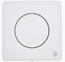 GBG  frontpanel universal enkel hvid til fikstur