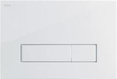 MEPAorbit betjeningsplade, 2-mængde, Hvid, Udenpåliggende/Pl