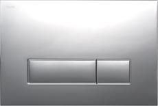 MEPAorbit betjeningsplade, 2-mængde, Glans krom, Udenpål./Pl