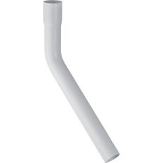 Skyllerørsbøjning 45° ø 44 mm hvid
