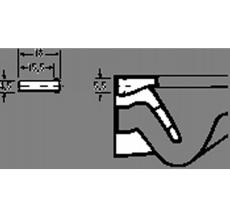 Geberit tilgangsferule Ø 45 mm