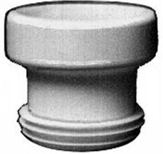 Klosettilslutning 118 x 125 mm støbejern