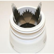 Spc Rottespærre, monteres mellem WC og faldrør