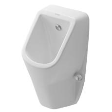 D-code urinal med dyse tilslutning bagfra