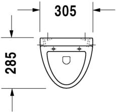 Fizz urinal model til låg, med flue