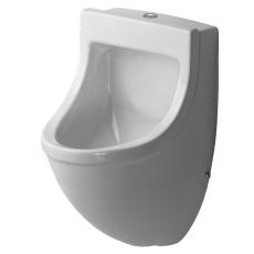Starck 3 urinal tilslutning fra oven