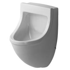 Starck 3 urinal tilslutning bagfra, med flue