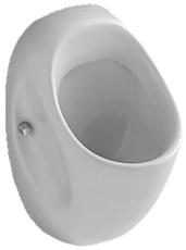 V&B 7508 O.Novo urinal med vandlås, hvid