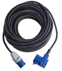 Kabelsæt / Campingkabel CEE 16A 3G2,5/CEE 16A+Schuko udtag