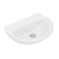 Ifö Spira håndvask 50 cm, buet forkant