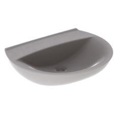Ifö Spira håndvask 57 cm, buet forkant, u/hh u/overløb