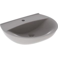 Ifö Spira håndvask 60 cm, buet forkant, m/hh u/overløb