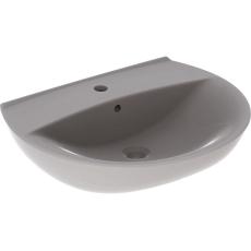 Ifö Spira håndvask 60 cm,  buet forkant, m/hh m/overløb.