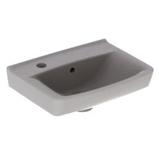 Ifö Spira håndvask 40 cm, lige forkant, hh højre
