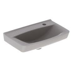 Ifö Spira håndvask 50 cm, lige forkant, hh højre, u/overløb
