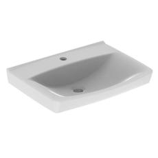 Ifö Spira håndvask 57 cm, lige forkant, m/hh u/overløb