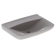 Ifö Spira håndvask 60 cm, lige forkant, u/overløb, u/hh