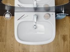Euro keramik Håndvask 60 væghængt
