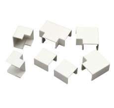 Formstykker til kabelkanal 7 x 12 mm hvid 3410