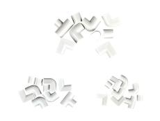 Formstykker til kabelkanal 9 x 5 mm hvid 3390