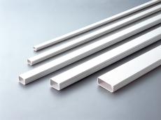 Kabelkanal 21 x 11,5 mm hvid med tape 2408