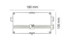 Luna koblingsboks inklusiv 24V driver, IP44
