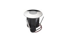 Spot Luna LED 1W 930, krom, uden driver, IP67