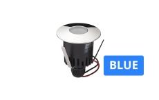 Spot Luna LED 1W blue, krom, uden driver, IP67