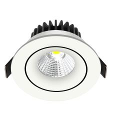 Downlight Velia Tilt LED 10,9W 3000K, 230V rund, hvid