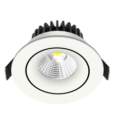 Downlight Velia Tilt Tunable 12,7W 1800-3000K, 230V rund, hv