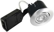Downlight Quick Install GU10 LED 5W 827 rund børstet alu