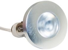 Downlight Viola 350mA 2W LED 827 børstet alu