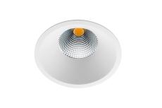 Downlight Soft Slim LED 9W 3000K, hvid