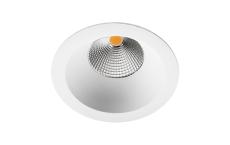 Junistar Soft LED 9W 4000K Dali, hvid