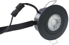 Downlight Low Profile Flexible LED 6W 3000K Ø87 sort