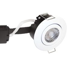 Downlight Low Profile Deluxe LED 6W 830 GU5,3, rund, hvid