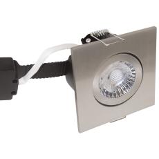 Downlight Low Profile Deluxe LED 6W 830 GU5,3, firk., børst.