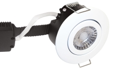 Downlight Low Profile Deluxe LED 6W 840 GU5,3, rund, hvid