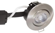 Downlight Low Profile Deluxe LED 6W 840 GU5,3, rund, børstet