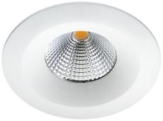 Downlight Uniled Isosafe LED 7W 3000K, hvid