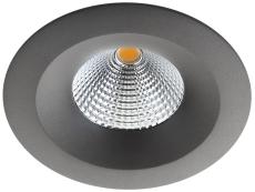 Downlight Uniled Isosafe LED 7W 3000K, grafit