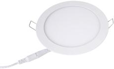 Downlight Lucette Slim LED 6W 3000K 541 lumen, Ø120, mat hvi