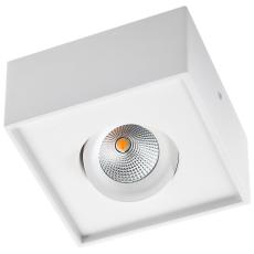 Loftarmatur Gyro Cube LED 1x6W 2700K, 520 lumen, mat-shvid