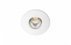 Downlight Nano LED 1W 3000K 90 lumen, 36°, mat-hvid