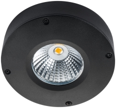 Loftarmatur Callisto LED 4W 3000K sort