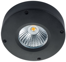 Loftarmatur Callisto LED 4W 2700K sort